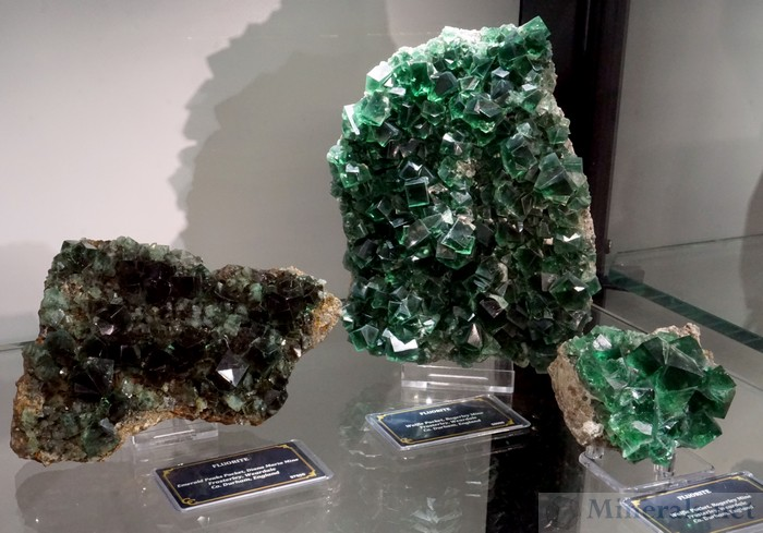 New Fluorite Finds at the Rogerly Mine & Diana Maria Mine, Frosterly, Weardale, England, Crystal Classics (Ian Bruce