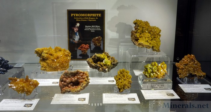 Pyromorphite Recently Released from the Collection of Bob Hopper Sr., Miner Owner and Operator of the Bunker Hill Mine, Kellog, Idaho