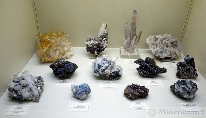 Minerals from the El Mochito Mine, Santa Barbara Dept., Honduras