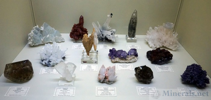 Quartz Crystal Color Diversity and Habits