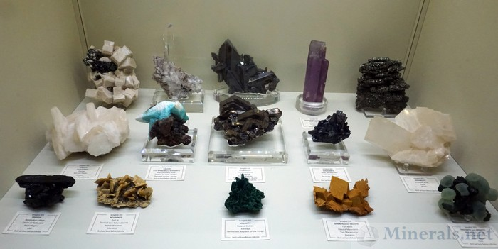Miscellaneous Worldwide Minerals