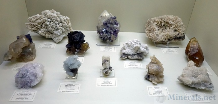 Minerals from Cave-in-Rock, Hardin County, Illinois