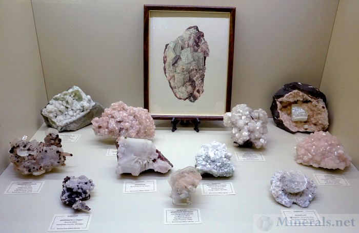 Another Display of Apophyllite from Various Worldwide Localities