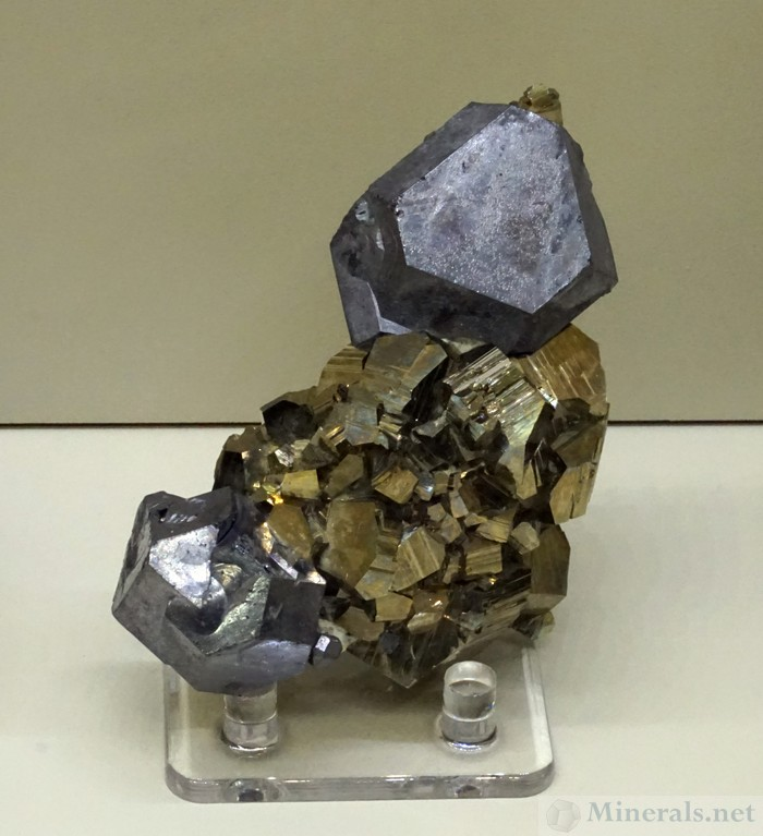 Galena and Pyrite from the Huanzala Mine, Ancash, Peru