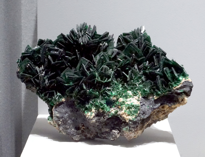 Metatorbernite from Shinkolobwe Mine, Shaba, D.R. Congo