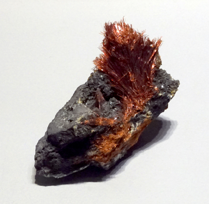 Ludlockite with Smithsonite from Tsumeb, Namibia