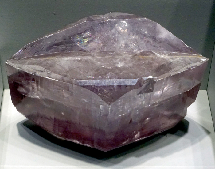 Purple Calcite Twinned Crystals from Joplin, Missouri