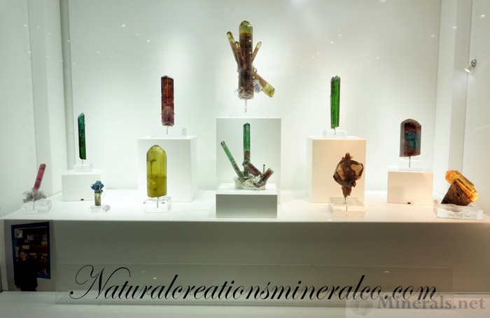 Exquisite Tourmaline  and Other Gem Crystals, Naturalcreationsmineralco.com