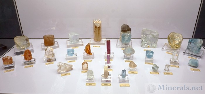 Topaz Crystal Collection, From the Meieran Collection and the Larson Collection