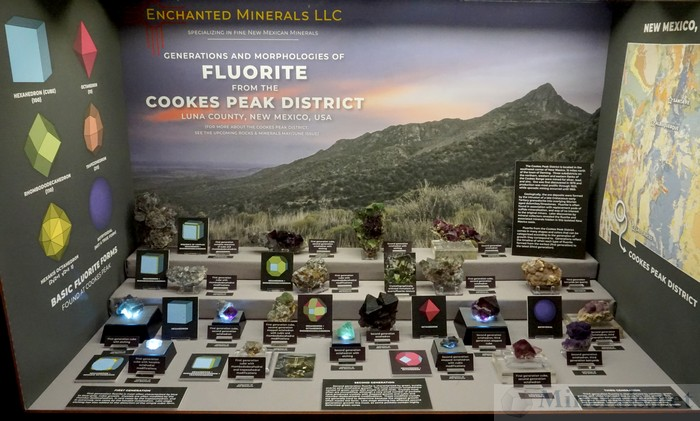 Generations and Morphologies of Fluorite from the Cookes Peak District, Luna Co., NM, Enchanted Minerals, LLC