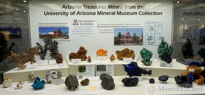 Arizona Treasures Mined from the University of Arizona Mineral Museum Collection, The University of Arizona Mineral Museum