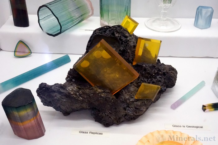Artisan Made Wulfenite Crystal Replica Glassware, Artisan Made Gemstones (Jerermy Sinkus)