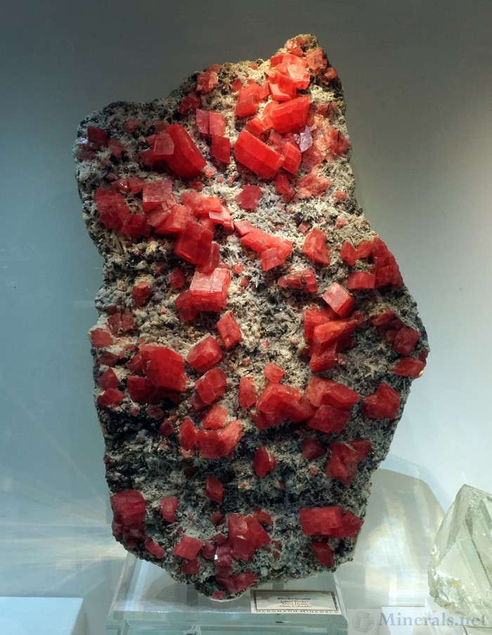 Rhodochrosite Crystal Plate from the Sweet Home Mine, Alma, CO, Bergmann Minerals