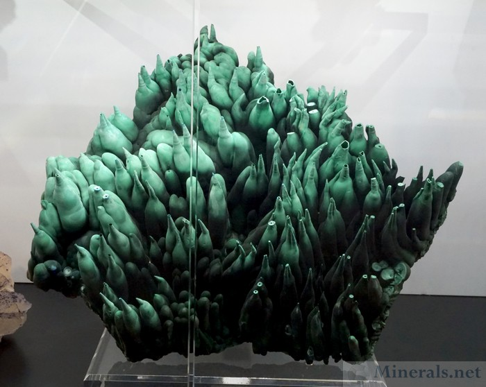 Hollow Malachite Tubes from the Congo, Bergmann Minerals