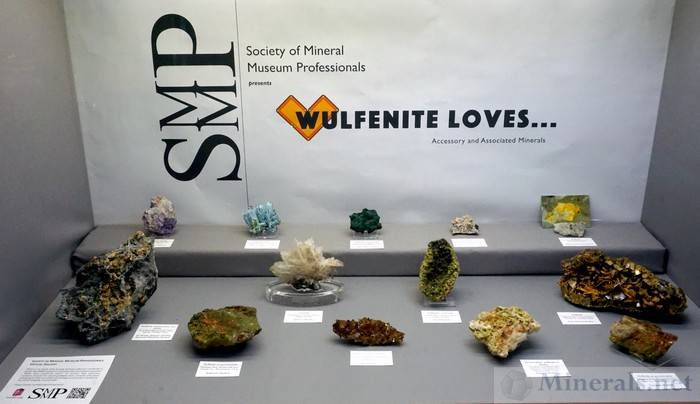 Wulfenite Loves... Accessory and Associated Minerals, Society of Mineral Museum Professionals