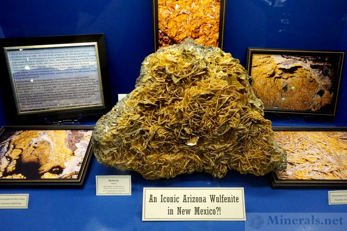 An Iconic Arizona Wulfenite in New Mexico?! New Mexico Bureau of Geology and Mineral Resources at New Mexico Tech