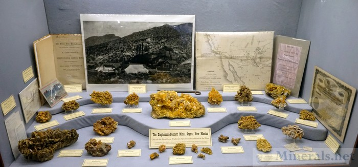 The Stephenson-Bennett Mine, Organ, New Mexico, New Mexico Bureau of Geology Mineral Museum, et al