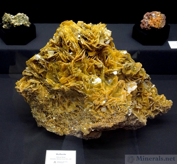 Wulfenite from the Glove Mine, Amado, Santa Cruz Co., AZ, The University of Arizona