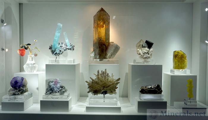 Case of Exquisite, High-End Minerals, William Johnson, Natural Creations Minerals