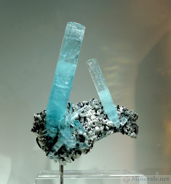 Amazing Aquamarine Crystals from Pakistan, William Johnson, Natural Creations Minerals
