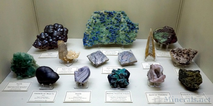 Nice Assortment of New Mexico Minerals