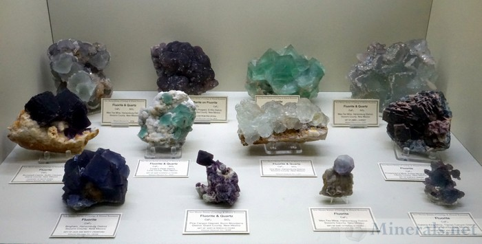 Fine Fluorite Assortment from New Mexico