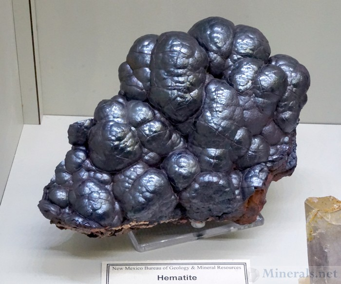 Hematite Kidney Ore from the Iron Hill District, Dona Ana Co., New Mexico