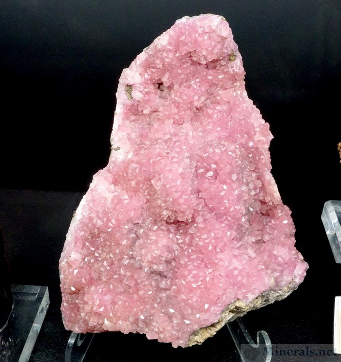 Pink Cobaltian Calcite from Agoudal, Bou Azzer, Morocco, Unique Minerals