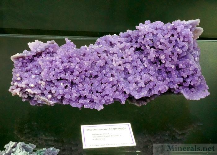 Excellent Example of Chalcedony var. Grape Agate from Mamuju, Sulawesi Barat Province, Indonesia: Earth's Hidden Treasures