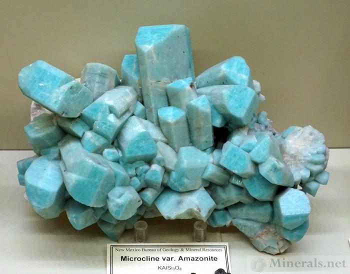 Microcline var. Amazonite from the Wigwam Creek, Jefferson Co., Colorado