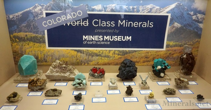 Colorado World Class Minerals Mines Museum of Earth Science