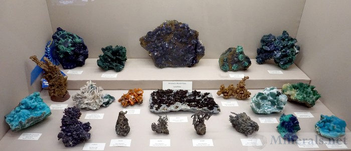 Arizona's World Class Minerals  - Les & Paula Presmyk Collection