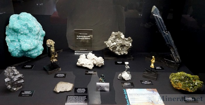 Some Classic Mineral Examples - Yale University Peabody Museum of Natural History
