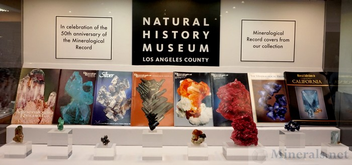 Mineralogical Record Covers of Minerals in the Museum Collection - Natural History Museum of Los Angeles County