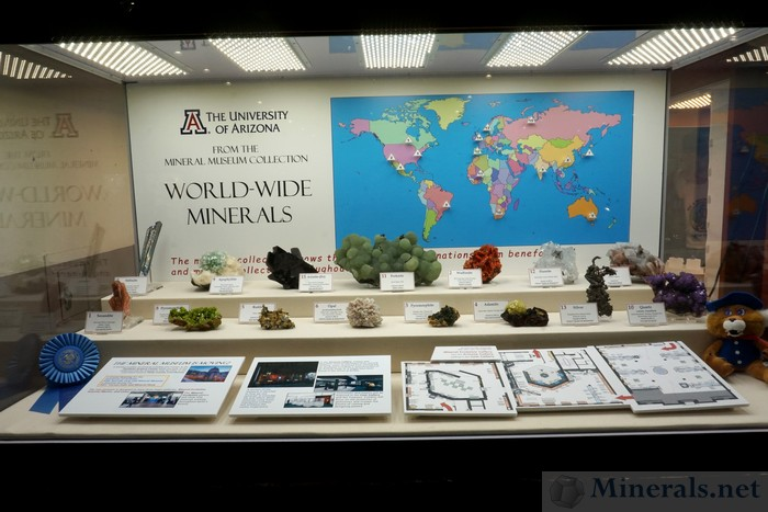 From the Mineral Museum Collection: World-Wide Minerals - The University of Arizona Mineral Collection