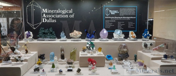 MAD Treasure Honoring the Mineralogical Record - MAD - Mineralogical Association of Dallas