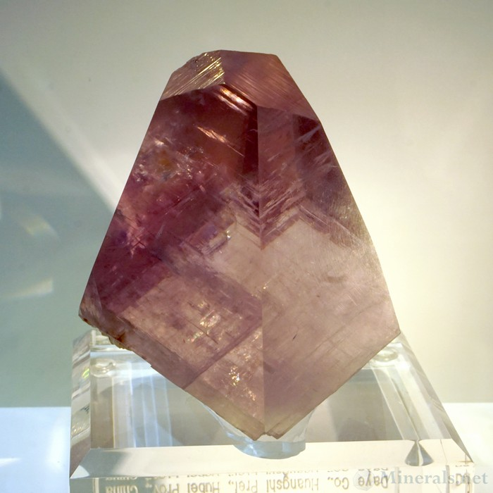Purple Calcite Crystal from the Fengkiashan Mine, Daye, Hubei Province, China, Green Mountain Minerals
