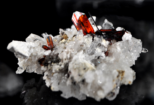 Gemmy Red Brookite, Balochistan Pakistan