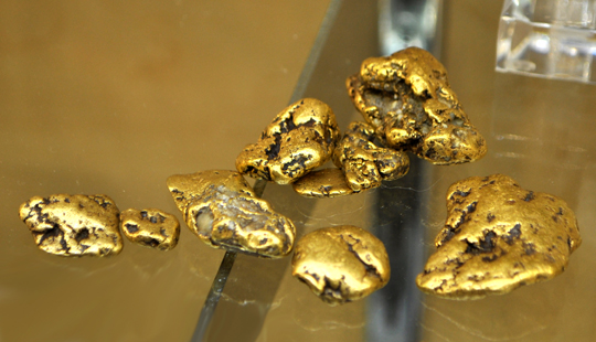 Gold Nuggests from Alaska