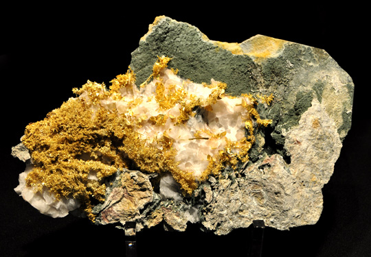 Gold from the Olinghouse Mine