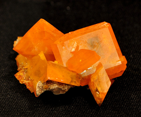 Tabular Wulfenite Crystal