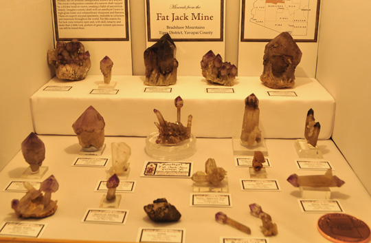 Amethyst Fat Jack Mine Arizona