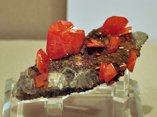 More Wulfenite from the Red Cloud Mine