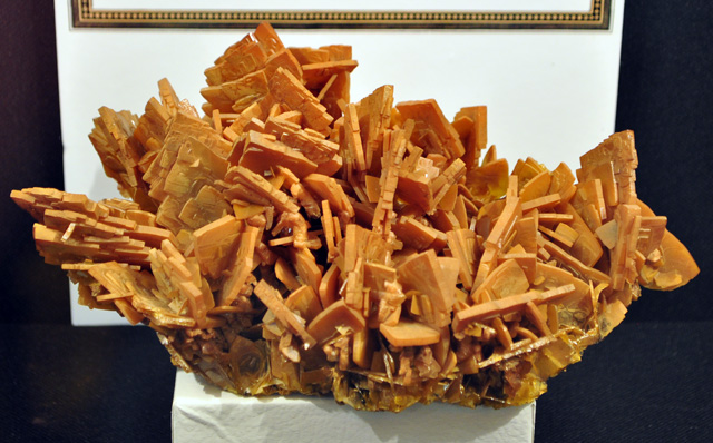 Wulfenite Crystal Plates from the Defiance Mine