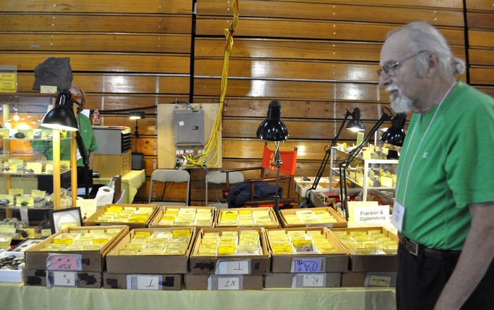 Franklin, NJ Fall Mineral Show
