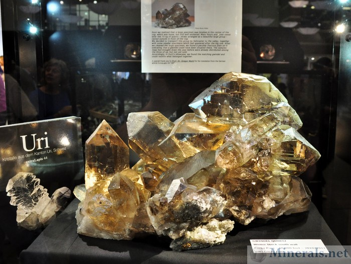 Smoky Quartz Gwindel, Switzerland