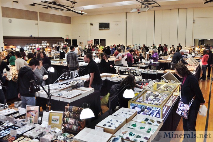 Clifton NJ Mineral Show 2014