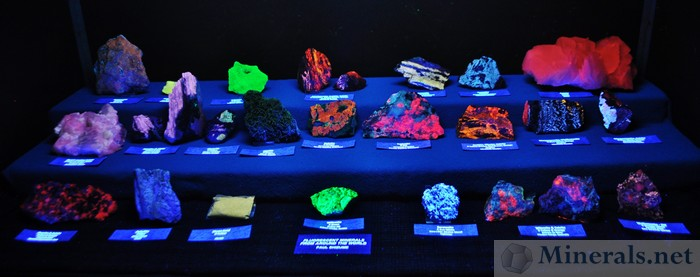 Fluorescent Minerals from Around the World, Paul Shizume