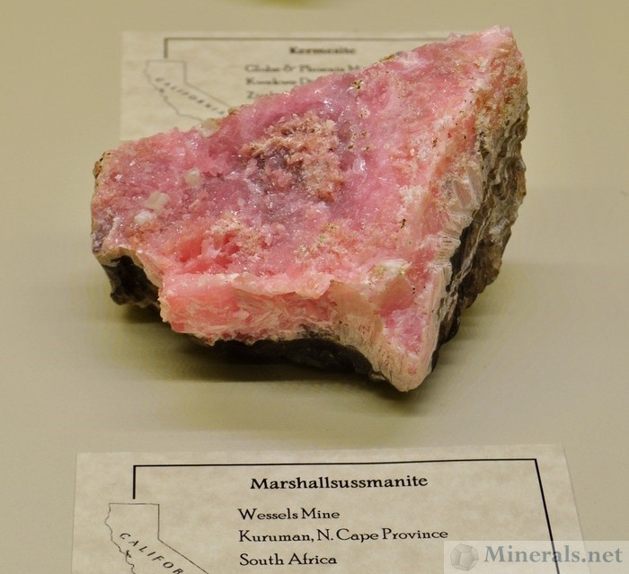 New Mineral Recently Named Marshalsussmanite