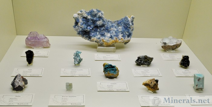 Minerals from Western States from Rick Kennedy